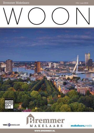 Bremmer Makelaars WOON magazine, juni 2018
