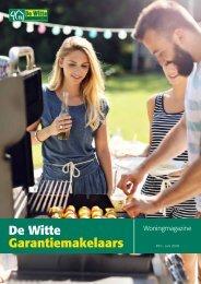 De Witte Garantiemakelaars Woningmagazine, juni 2018