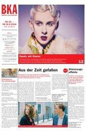 Berner Kulturagenda 2018  N°20