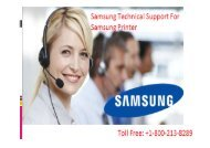 +1 800-213-8289 Samsung Printer Technical Support For Samsung Printer
