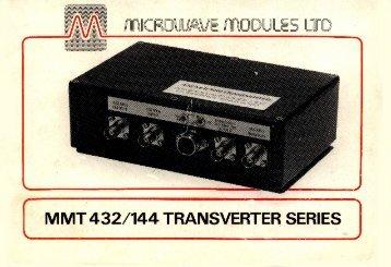 MMT 432/144