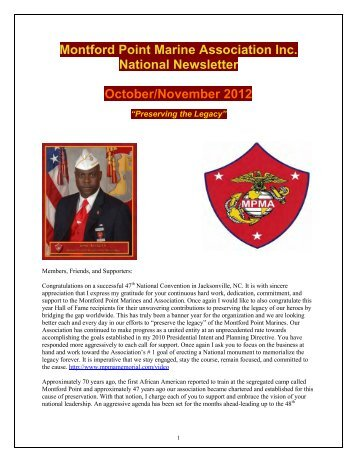 How Alfred Became The First Black Marine - Montford Point ...