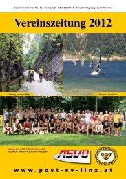 Vereinszeitung 2012 - Post-SV-Linz