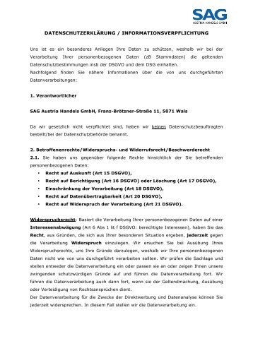 IVa_ Datenschutzerklärung_Website_SAG