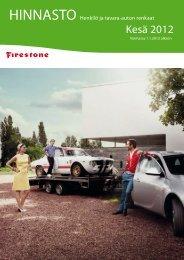 Kesä 2012 - Bridgestone