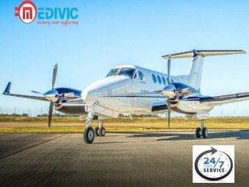 Medivic Aviation Low-Cost Air Ambulance Service in Varanasi