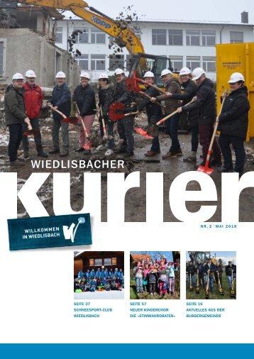 Wiedlisbacher Kurier 2/2018