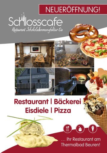 Schlosscafe Restaurant Café Konditorei in Beuren