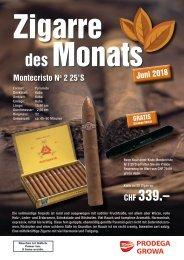 Zigarre des Monats Juni
