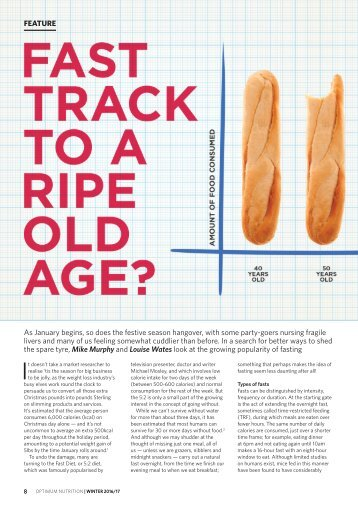 Fast track to a ripe old age
