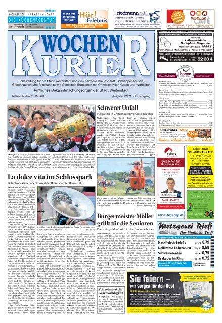 Wochen-Kurier 21/2017 - Lokalzeitung für Weiterstadt und Büttelborn
