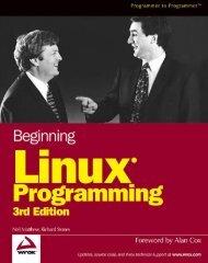 Beginning Linux Programming - ebook
