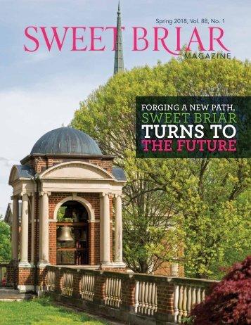 Sweet Briar College Magazine - Spring 2018