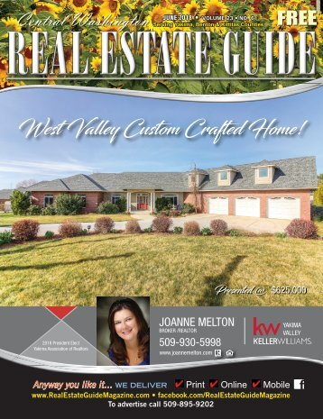 Central Washington Real Estate Guide June 18