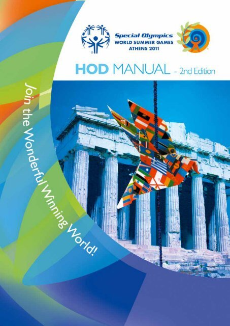 Head of Delegation Manual - Special Olympics