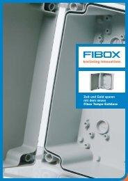 Zeit und Geld sparen  mit dem neuen Fibox Tempo-Gehäuse