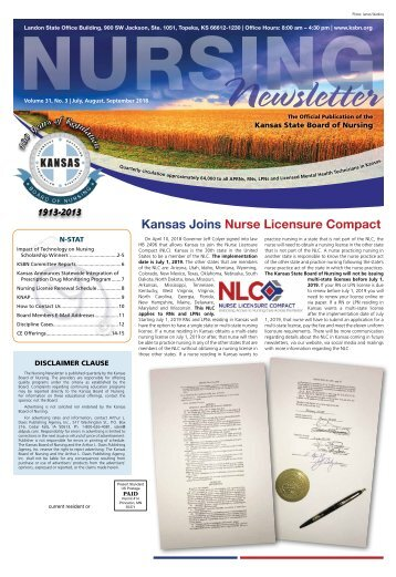 Nursing Newsletter - July 2018