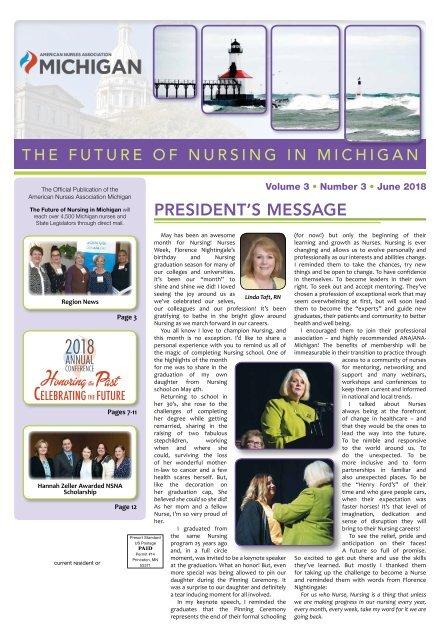 The Future of Nursing in Michigan - June 2018