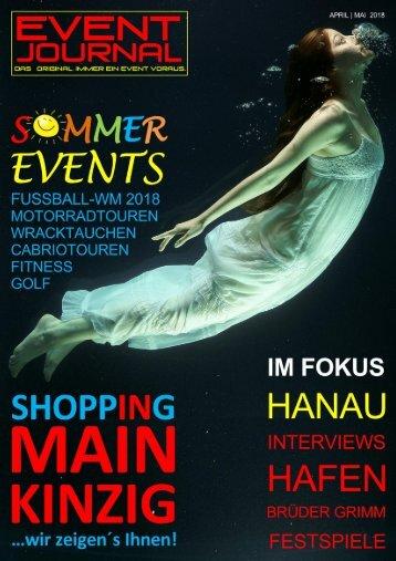 EVENT JOURNAL April-Mai 2018