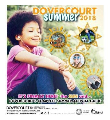 Dovercourt Summer 2018 program guide