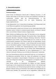 2. Gesamtkonzeption - Radeburg