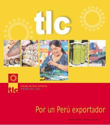 tlc - Ministerio de Comercio Exterior y Turismo