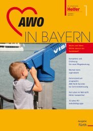 Geschäftsstellen des SoVD in Bayern - Arbeiterwohlfahrt ...