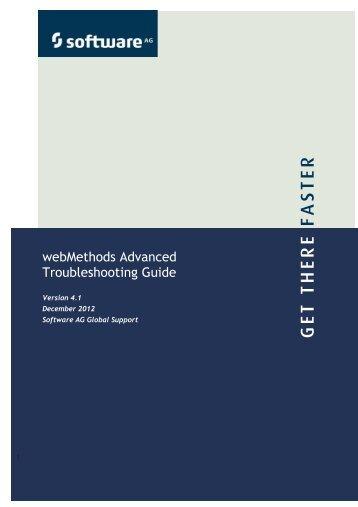 webMethods Advanced Troubleshooting Guide 4.1_tcm121-94566