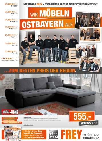 Interliving FREY Cham - Wir möbeln Ostbayern auf