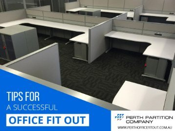For Affordable office fitouts in Perth - Perth Partition Company