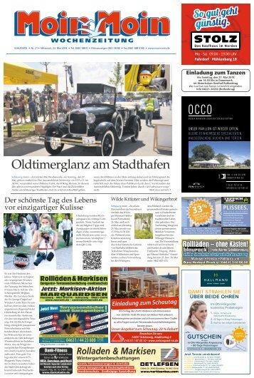 MoinMoin Schleswig 21 2018