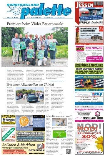 Nordfriesland Palette 21 2018