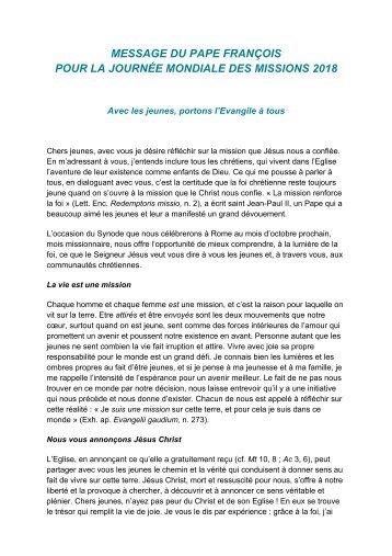DMU_2018_message-du-Pape-Francois