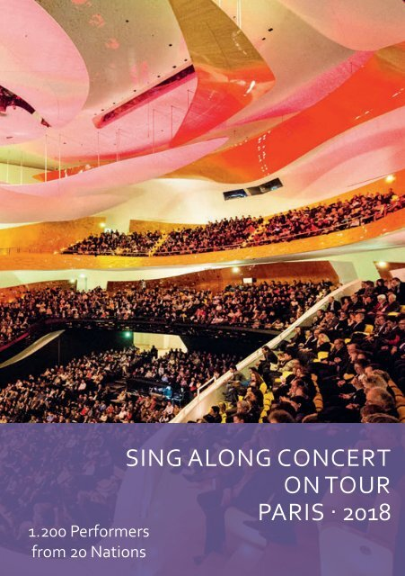 Sing Along Concert Paris 2018 - Program Book