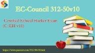 Certified Ethical Hacker 312-50v10 pdf