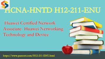 HCNA H12-211-ENU exam dumps