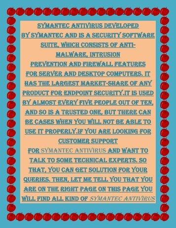 Dial +1(844) 443-2544 Symantec Antivirus Customer Service phone number