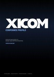 Xicom Corporate Profile