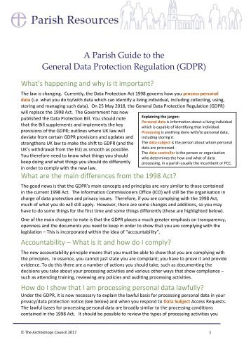 Parish-Guide-to-GDPR