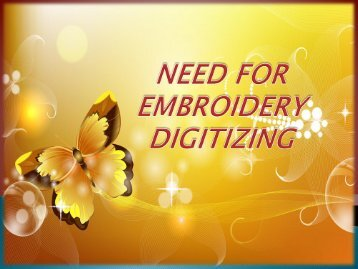 Embroidery Digitizing - Convert Your Logo In To Digital Art