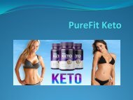 PureFit Keto - Your Fast and Easy way to Burn Fat and Weight Loss