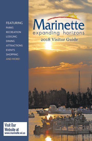 City of Marinette 2018 Visitor Guide