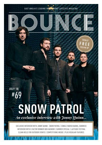 Bounce Magazine July 2018