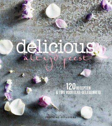 delicioius. altijd feest! - kookboek