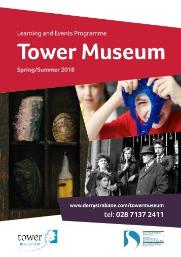 Tower Museum Spring Summer 2018 Programme Web