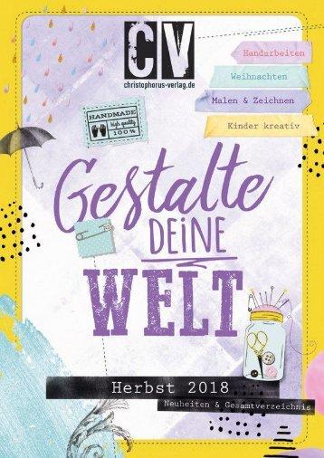 Christophorus Verlag Neuheiten- und Gesamtverzeichnis Herbst 2018