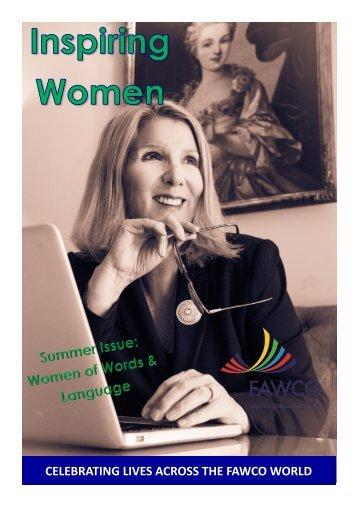 Inspiring Women Summer 2018