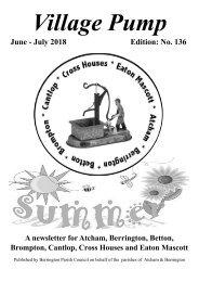 Berrington Village Pump Edition 136 (Jun - Jul 2018)