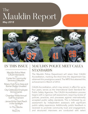 May 2018 Mauldin Report