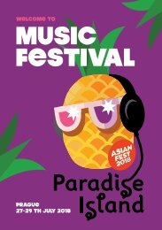Paradise Island brožura